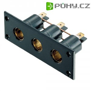 Palubní zásuvka ProCar, 57612004, DIN ISO 4165, 12/24 V, 16 A, trojitá