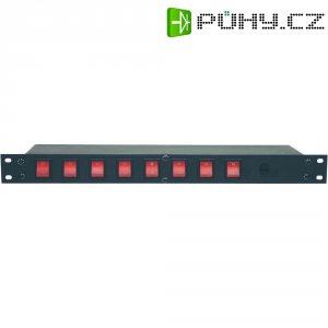 "Panel racku 48,3 cm (19\"") Eurolite Board 8 , IEC zásuvka"