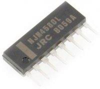 NJM4580L - 2xOZ SIP8