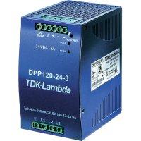 Zdroj na DIN lištu TDK-Lambda DPP120-12-3, 12 V/DC, 10 A