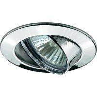 Vestavné osvětlení Paulmann Premium Line 98943, 50 W, otáčivé, chrom