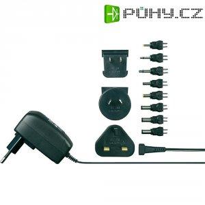 Síťový adaptér s redukcemi Voltcraft SPS12-7W, 3 - 12 V/DC, 7 W
