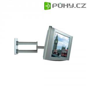"""Nástěnný TV držák B-Tech BT 7513/S, 25,4 - 58,4 cm (10\"""" - 23\""""), s ramenem, stříbrná"""