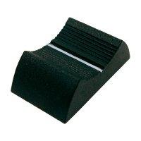 Knoflík na posuvný potenciometr Cliff CP33350, CS9, 4 mm, černá