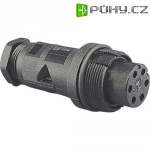 Vestavný konektor s vnějším závitem ESKA Bulgin PX0801, 0,2 - 0,5 mm², IP68
