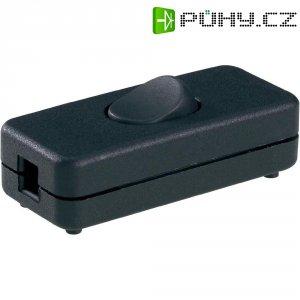Vypínač pro svítidla, GE-7011VDE, 250 V/AC, černá