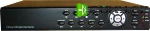 DVR 8kanálový, 8608A, D1, real time