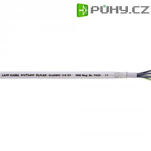 Datový kabel LappKabel Ölflex CLASSIC 110 CY, 3 x 1 mm², transparentní, 1 m