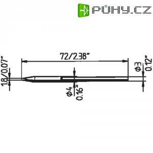 Pájecí hrot Ersa Typ 212 ED LF, 1.8 mm