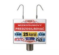 Anténní zesilovač DVB-T 25K 5V 12dB F