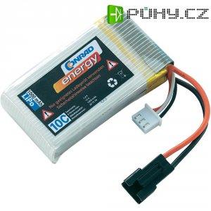Akupack LiPol Conrad Energy, 7,4 V, 1000 mAh, 10 C, Slow-Flyer / XH