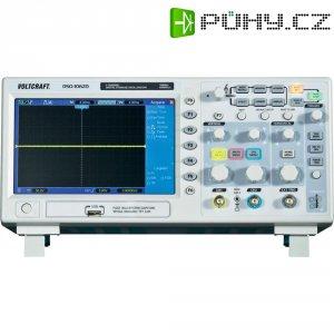 Digitální paměťový osciloskop Voltcraft DSO-1102D, 2kanálový, 100 MHz