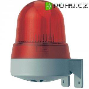 Bzučák s bleskem Werma 423.110.75, 120 x 91,5 x 82,5 mm, 24 V DC/AC, IP65, červená