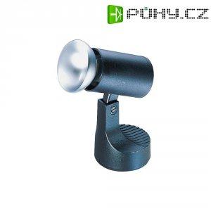 Držák světla s objímkou E27, nástěnný/stropní, černá
