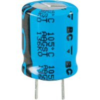 Kondenzátor elektrolytický Vishay 2222 136 68471, 470 µF, 63 V, 20 %, 25 x 16 mm