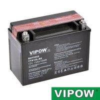 Baterie motocyklová 12V 13Ah Vipow YTX15L-BS