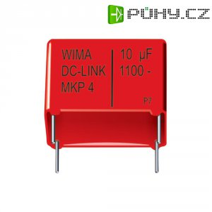 Foliový kondenzátor MKP Wima DC-LINK, 5 µF, 1100 V, 20 %, 41,5 x 20 x 39,5 mm