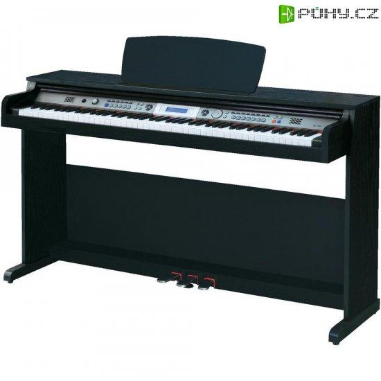 Digitální piano Mc Crypt DP-263, černá - Kliknutím na obrázek zavřete