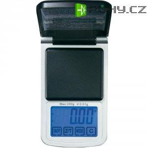 Kapesní váha Voltcraft PS-200HTP, 200 g