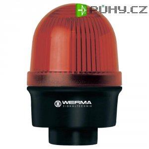 Trvalé světlo Werma, 209.100.00, 12 - 240 V/AC/DC, IP65, červená