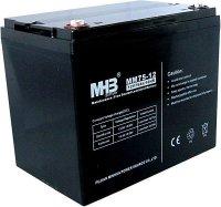 Pb akumulátor MHB VRLA AGM 12V/75Ah polotrakční