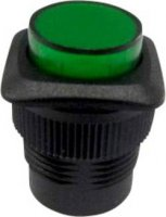 Tlačítkový spínač R13-508BL-05zelený