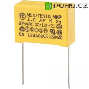 Foliový kondenzátor MKP, 1 µF, X2 275 V/AC, 10 %, 32 x 13 x 23 mm