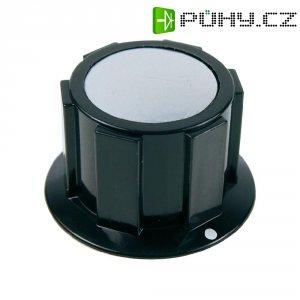 Knoflík Cliff FC1622, pro sérii K1C, 6 mm, černá/stříbrná