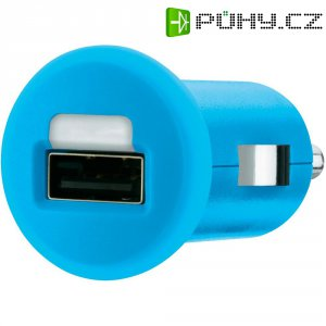 USB nabíječka do auta Belkin F8J018cwBLU, modrá