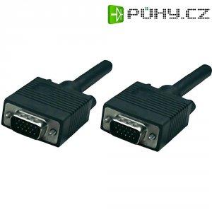 Manhattan VGA kabel, zástrčka/zástrčka, 3 m