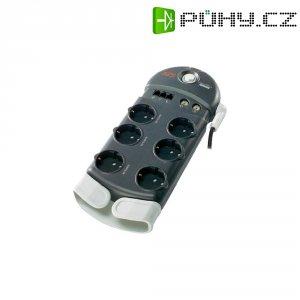 Zásuvková lišta s přepěťovou ochranou APC Performance, 1406767, 6 zásuvek, antracit