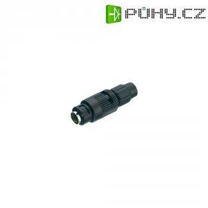 Kulatý konektor submin. Binder 710 (99-0995-100-05), 5pól., kab. zástr., 0,25 mm², 3-4 mm