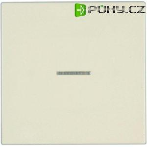 Vypínač s kontrolkou Jung, LS 990 KO 5, krémově bílá
