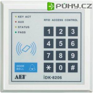Kódová klávesnice se čtečkou karet, iDK-8206, 12 V/DC