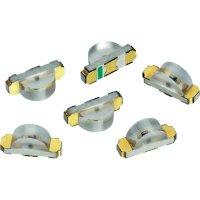 SMD LED Würth Elektronik, 155124VS73200, 25 mA, 2 V, 120 °, 50 mcd, světle zelená