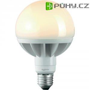 LED žárovka Sygonix, E27, 12 W, 230 V, 152 mm, teplá bílá