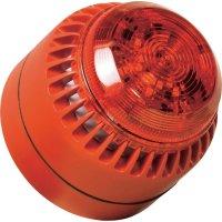 Siréna s blikajícím světlem ComPro ROLP Solista Beacon (ROLP/SB/RL/R/D), IP65, červená