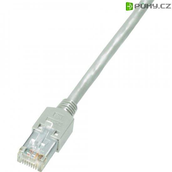 Patch kabel Dätwyler CAT 5 S/ UTP, 5 m, šedá - Kliknutím na obrázek zavřete