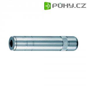Jack konektor 3,5 mm , stříbrná