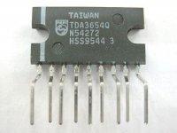 TDA3654Q, TV vertikál 110°