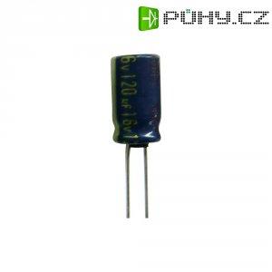 Kondenzátor elektrolytický Panasonic EEUFC1J121B, 120 µF, 63 V, 20 %, 16 x 10 mm