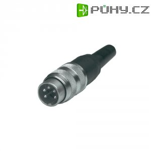 Kabelová zástrčka rovná Amphenol T 3504 001, 8pól., 3 - 6 mm, IP40