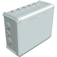 Rozbočovací krabice OBO Betternann T250, IP66, 240x 190x 95 mm, světle šedá, 2007109