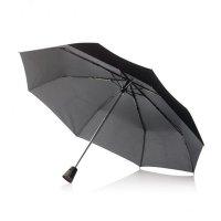 Deštník automatický, průměr 55cm, XD Design, Brolly, černý, černá rukojeť