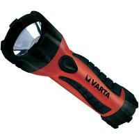 Kapesní LED svítilna Varta Rubbermate, 3 W, červená