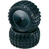 Monstertruck kolo Reely, plný ráfek, 1:10, 12 mm 6-hran, černá, 2 ks (D10R02SBA)