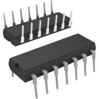 Operační zesilovač Quad Single Supply Microchip Technology MCP604-I/P, PDIP-14