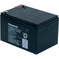 Olověný akumulátor, 12 V/15 Ah, Panasonic LC-CA1215P1