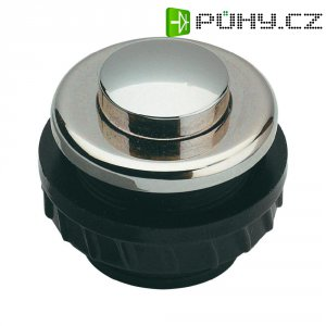 Zvonkové tlačítko Grothe Protact 62026, max. 24 V/1,5 A, niklovaná mosaz