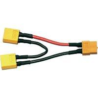 Y kabel sériový Modelcraft, XT60 konektor, 700 mm, 2,5 mm²